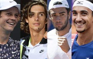 Ranking Atp, 9 italiani in top-100