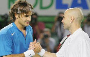 """Agassi ricorda la sfida con Federer: """"Stavo giocando contro il più forte di sempre"""""""