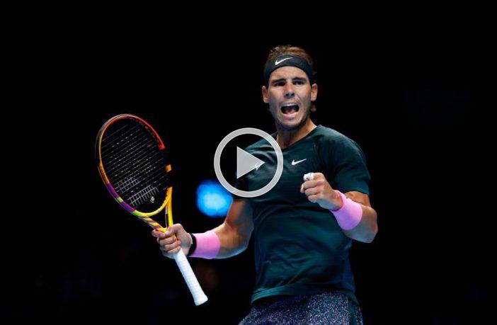 I 10 migliori punti di Rafael Nadal nel 2020