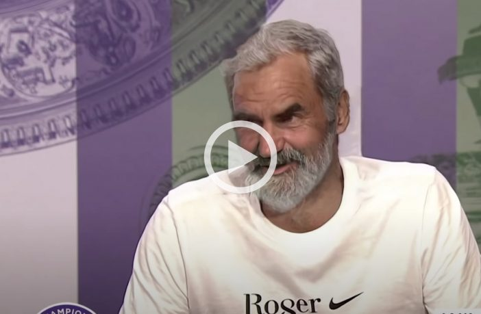 Pronto a giocare il prossimo anno? La risposta di Federer, nel 2040...