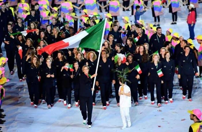 Italia alle Olimpiadi senza bandiera e inno?