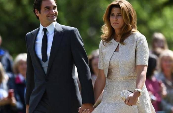 Roger e Mirka Federer