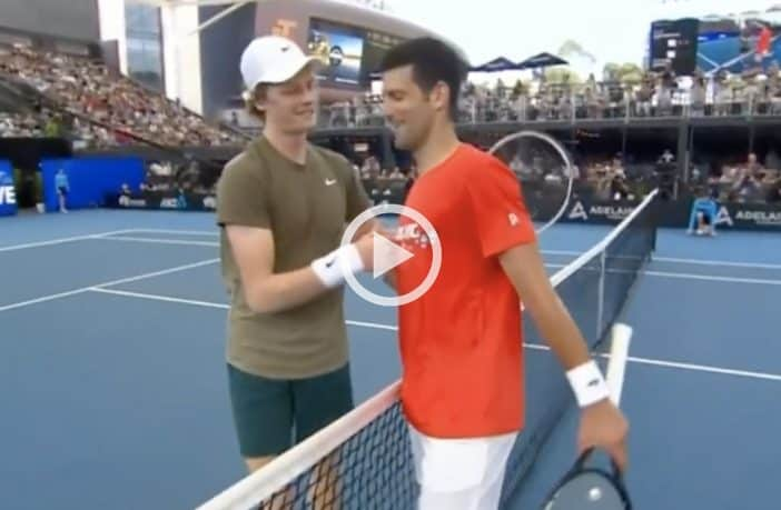 Djokovic batte Sinner ad Adelaide - Video
