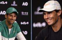 Australian Open 2021, Novak Djokovic e Rafael Nadal