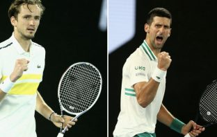 Chi vince tra Medvedev e Djokovic: risponde Tsitsipas