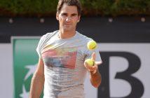 Roger Federer al lavoro per il rientro in campo