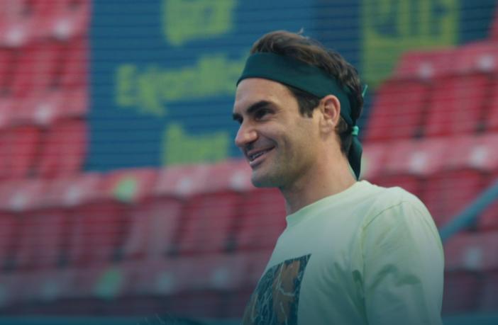 L'allenamento italiano di Federer a Dubai