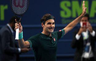 Federer in campo a Doha contro Basilashvili