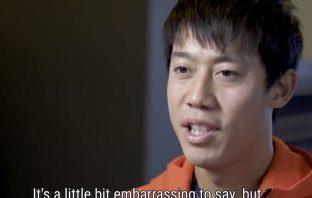 """Nishikori: """"Da piccolo volevo essere un pinguino"""""""