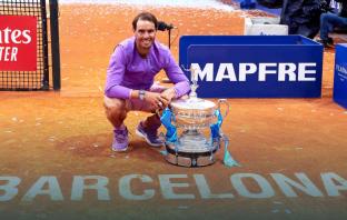 Nuovo record per Nadal: almeno 450 vittorie su due superfici