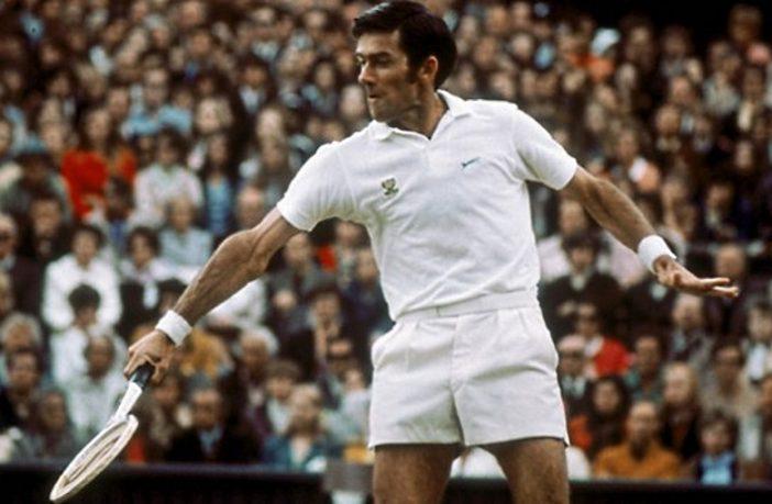 Ken Rosewall, il tennista più anziano a vincere uno Slam