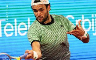 Berrettini batte Karatsev e vince a Belgrado