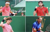 I quattro semifinalisti di Montecarlo
