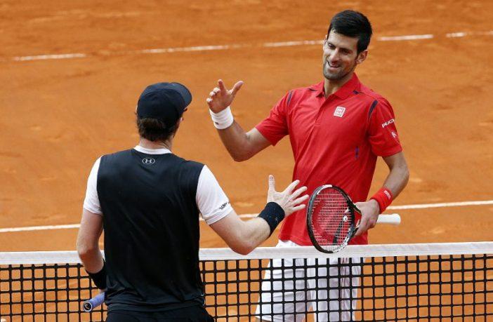 Novak Djokovic e Andy Murray al Foro Italico
