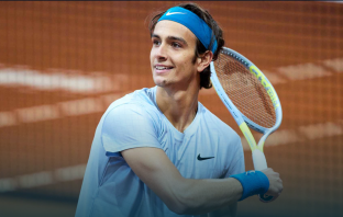 Musetti e il primo incontro con Federer