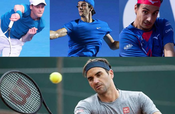 Roland Garros: tocca a Sinner, Mager, Sonego, Musetti e... Federer