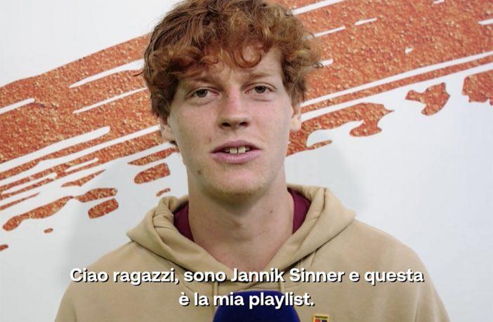La playlist ideale di Jannik Sinner