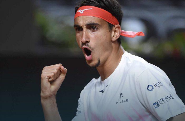 Pazzesca partita di Sonego contro Djokovic