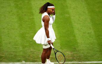 Wimbledon, Serena Williams si ritira in lacrime (VIDEO)