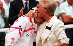 Il pianto di Jana Novotna a Wimbledon