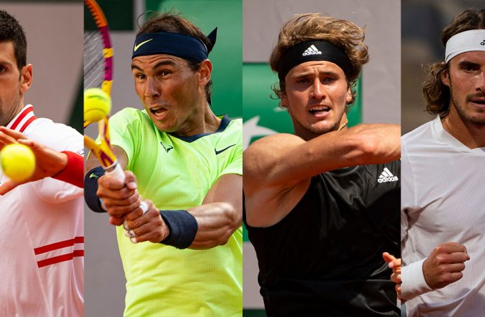 Nadal, Djokovic, Tsitsipas, Zverev: i 4 semifinalisti al Roland Garros 2021