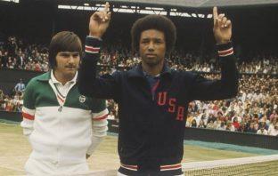 Arthur Ashe vince a Wimbledon nel 1975