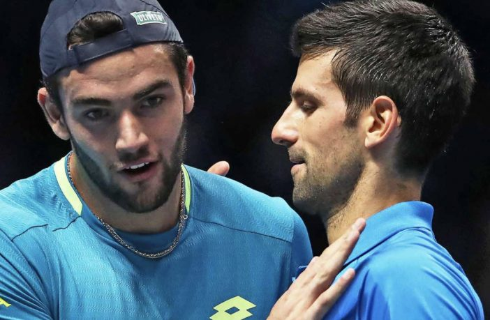 Berrettini pronto per Djokovic