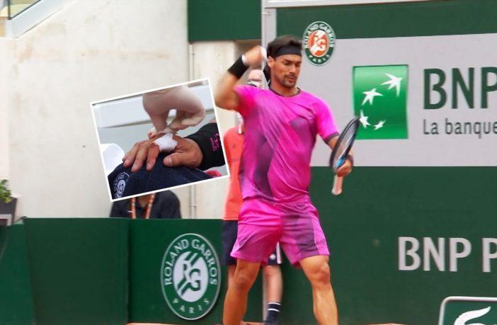 Fognini crolla contro Delbonis al Roland Garros 2021
