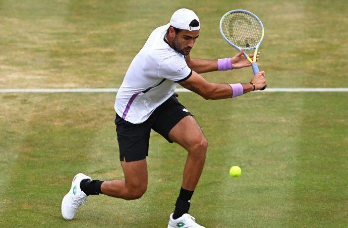 Matteo Berrettini dopo la grande vittoria al Queen's punta Wimbledon