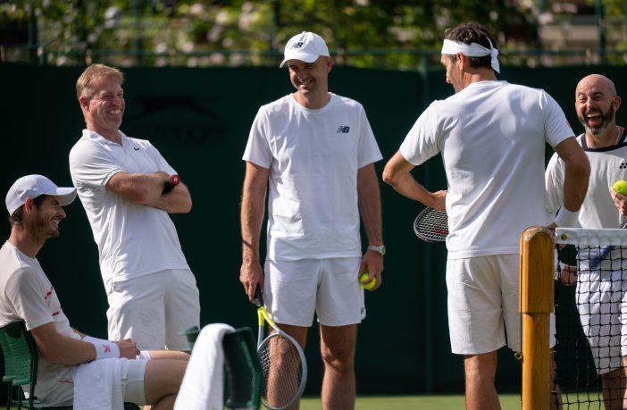 Federer, Murray, la Svizzera e le risate