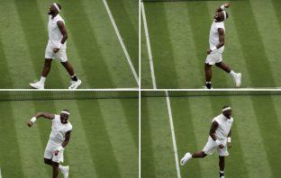 Tiafoe batte Tsitsipas al primo turno a Wimbledon