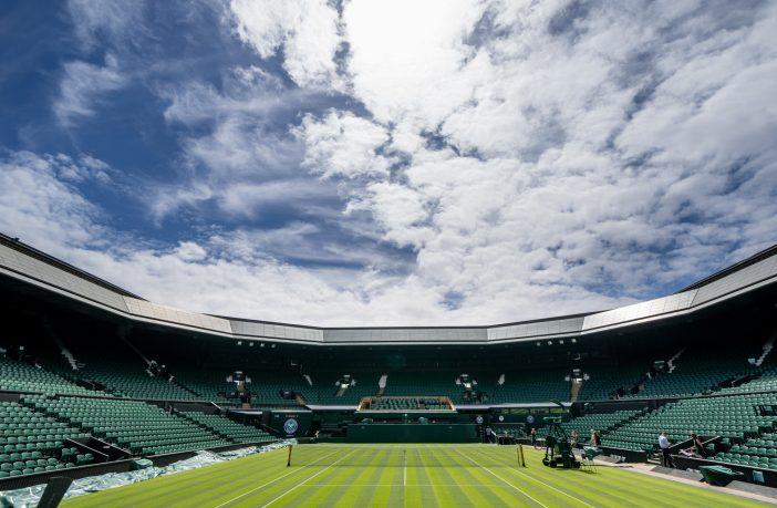 Il Centrale di Wimbledon pronto all'azione