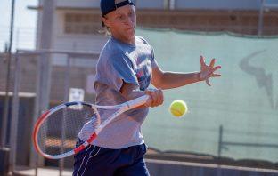 Wimbledon junior, Leo Borg sulle orme del padre