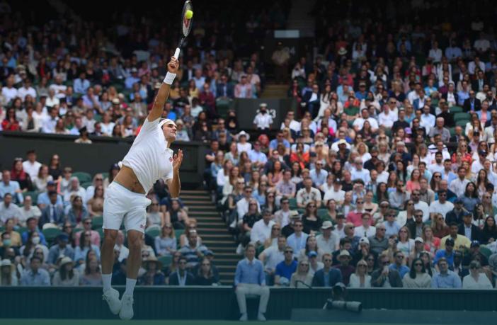 Wimbledon, Federer non abdica: sconfitto Sonego