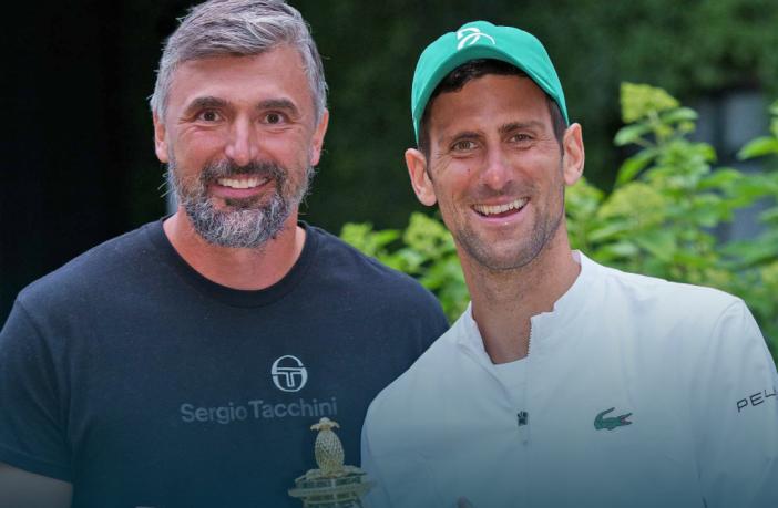 Ivanisevic e la pressione di lavorare con Djokovic