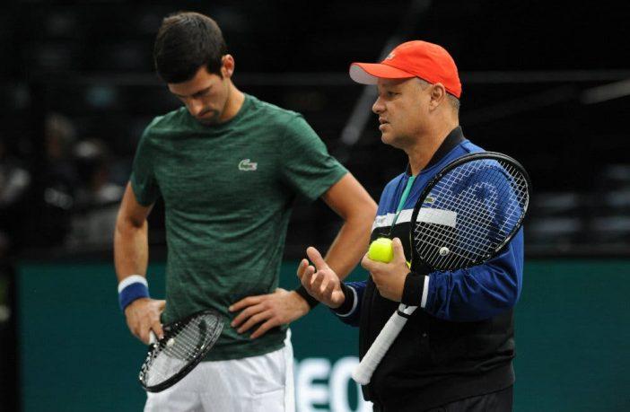 Coach Vajda a tutto tondo su Djokovic