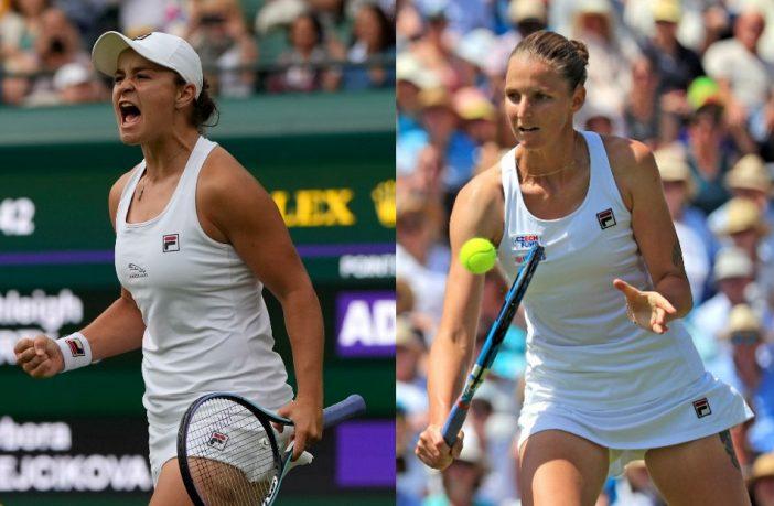 Barty sfida Pliskova in finale a Wimbledon