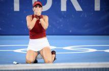 Belinda Bencic ha vinto l'oro olimpico a Tokyo