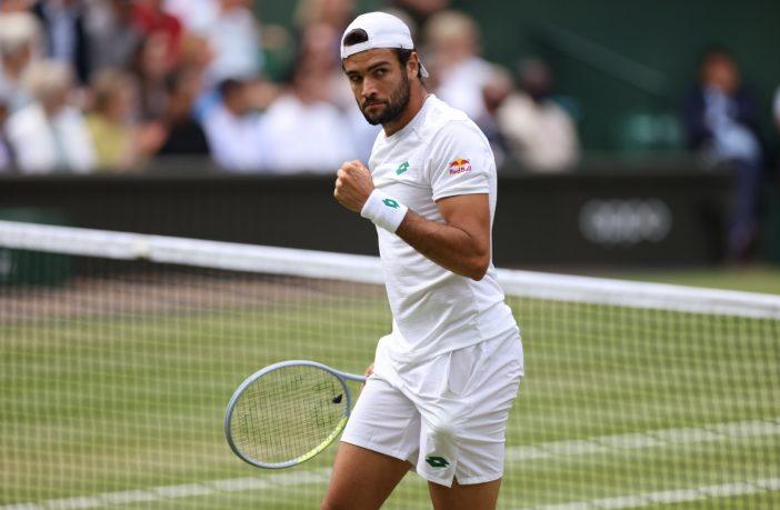 Matteo Berrettini è in finale a Wimbledon