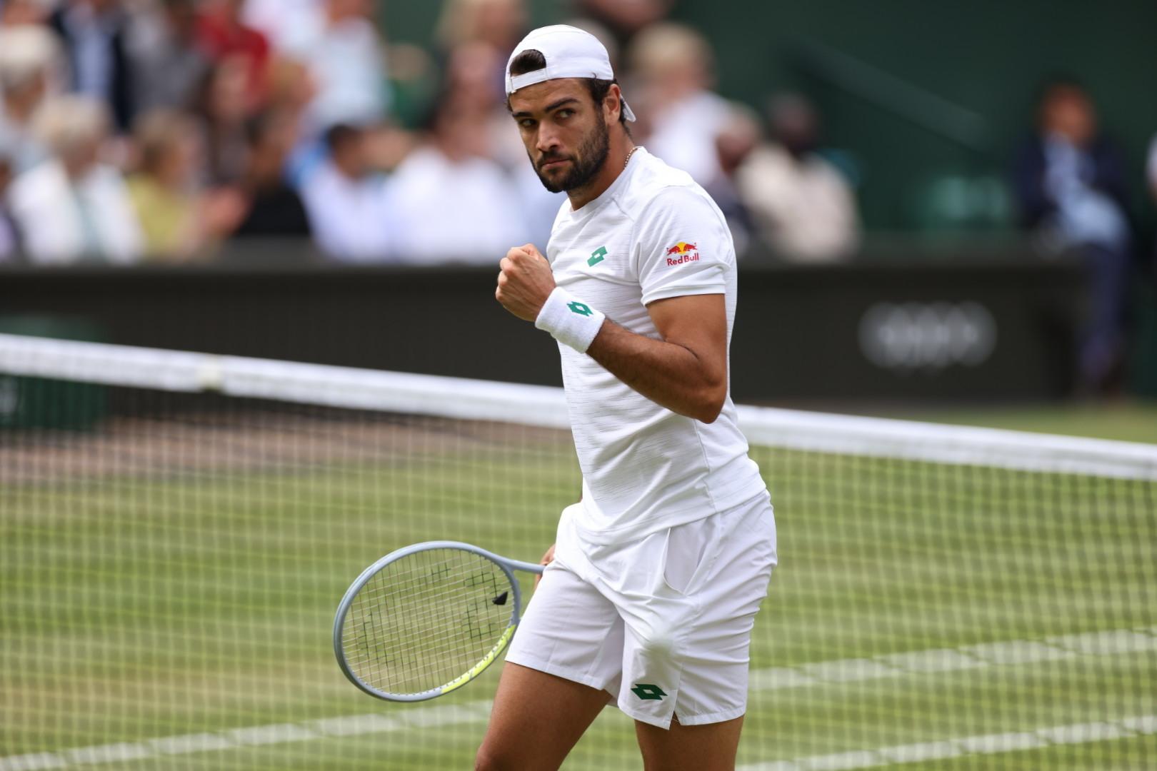 E' tutto vero! Un monumentale Berrettini è in finale a Wimbledon - Tennis  Fever