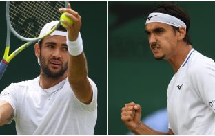 Wimbledon, Berrettini e Sonego fratelli d'Italia: sono agli ottavi