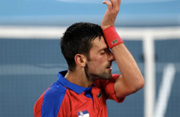Novak Djokovic finisce senza medaglie alle Olimpiadi di Tokyo