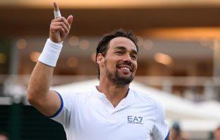 Fognini vs Rublev a Wimbledon