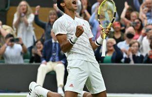Felix Auger-Aliassime sfida Berrettini a Wimbledon