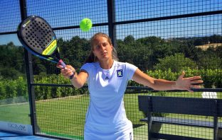 Giorgia Marchetti, dal tennis al padel