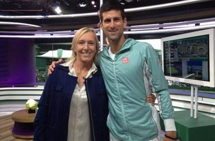 Navratilova prevede quota 24 Slam per Djokovic