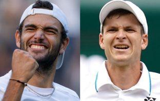Berrettini e Hurkacz si sfidano per Wimbledon e ranking