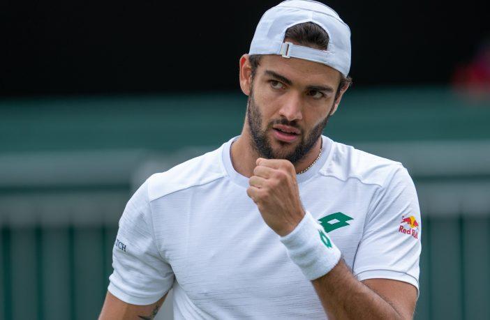 Matteo Berrettini vola ai quarti di finale a Wimbledon