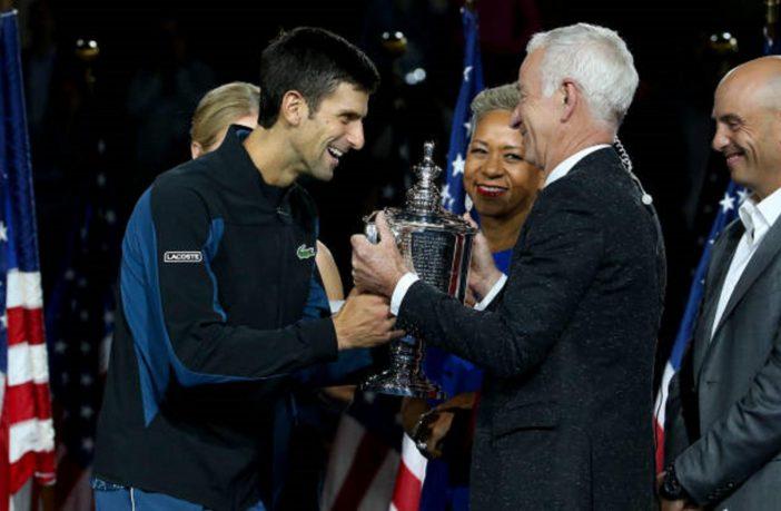 John McEnroe e Novak Djokovic