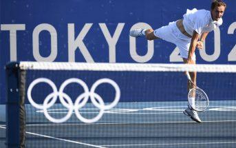 Medvedev antisportivo a Tokyo
